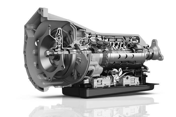 レース用に開発された遊星ギヤ式8速AT「8P45R」