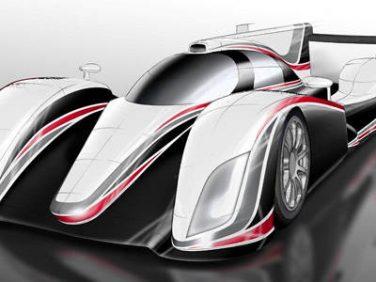 FIA世界耐久選手権 トヨタ 2012年参戦予定マシン イメージ 画像