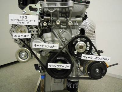 スズキ ワゴンR  S-エネチャージ ISG