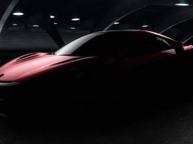 アキュラ デトロイト 新型NSX