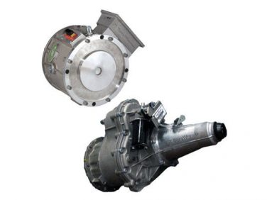 ボルグワーナー 世界初の量産小型EVトラック「eキャンター」に電気モーターとトランスミッション「eGearDrive」を供給
