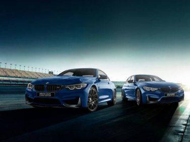 BMW M3セダン/M4クーペコンペティションの限定モデルを発表