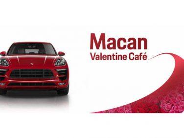ポルシェ 「マカン バレンタイン カフェ」を期間限定でオープン