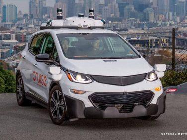 GM 完全自動運転車レベル5の「クルーズAV」公道走行許可をアメリカ運輸省に申請