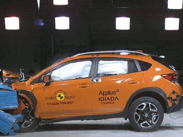 スバル インプレッサ/XVがユーロNCAPのスモール・ファミリーカークラスでベストinクラス・セーフティ賞を獲得