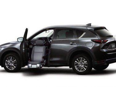 マツダ「CX-5 助手席リフトアップシート車」を商品改良