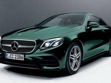 メルセデス・ベンツ Eクラスクーペに「Mercedes me connect」を標準化