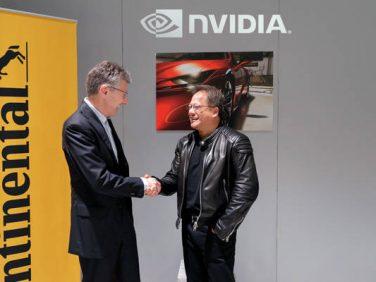 コンチネンタル NVIDIA社と提携 自動運転向けAIの世界生産を目指す