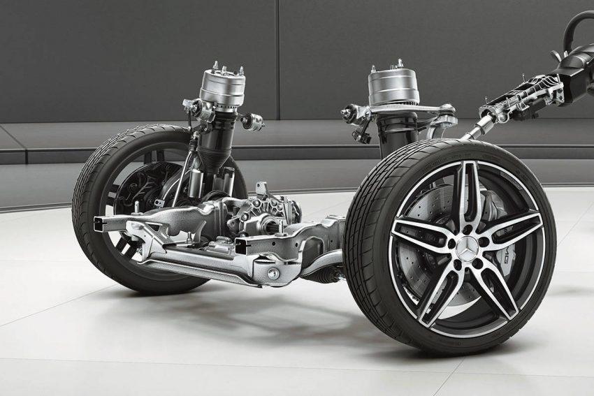 メルセデス AMG 53シリーズ AMG RIDE CONTROL+サスペンション