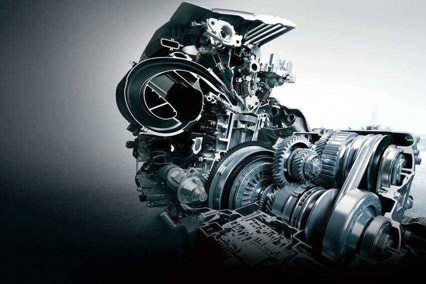 2.0L 直列4気筒ダイナミックフォース・エンジンとダイレクトシフトCVT