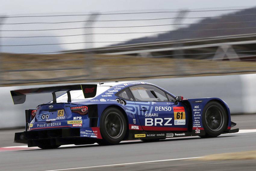 【スーパーGT BRZ GT300シェイクダウン】決め細い空力性能をアップデート