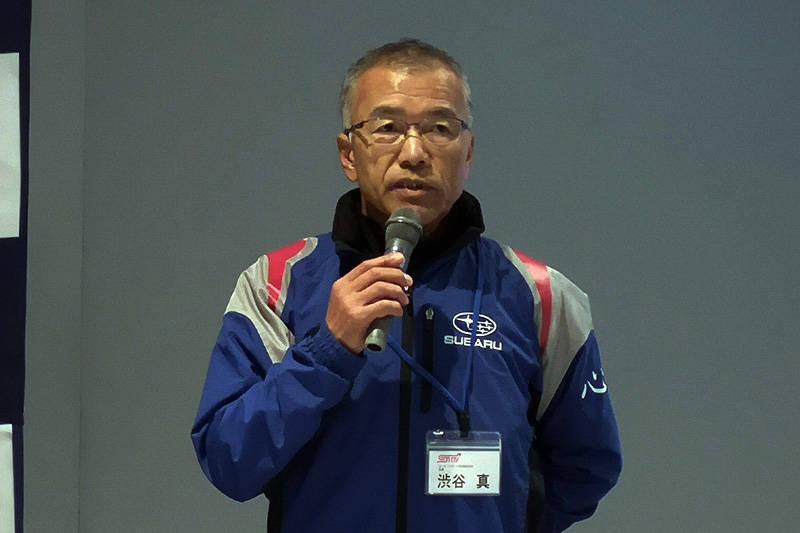 2019年の方針を語る渋谷真総監督