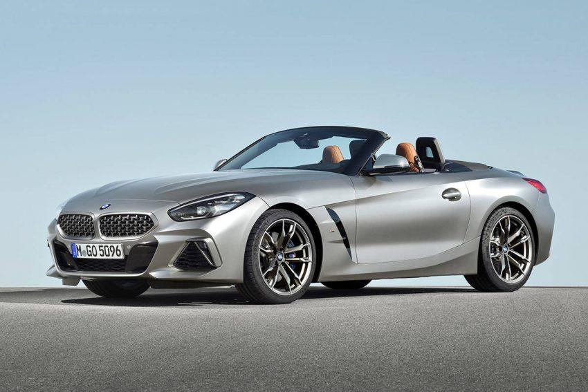 BMW Z4 M40i Frozen Grey(写真はベースモデル「Z4」)