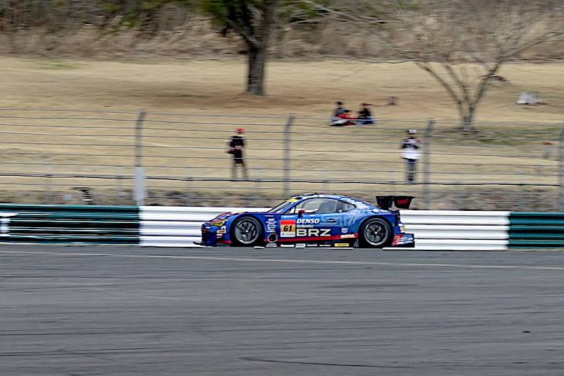 スーパーGT富士公式テスト スバル BRZ GT300