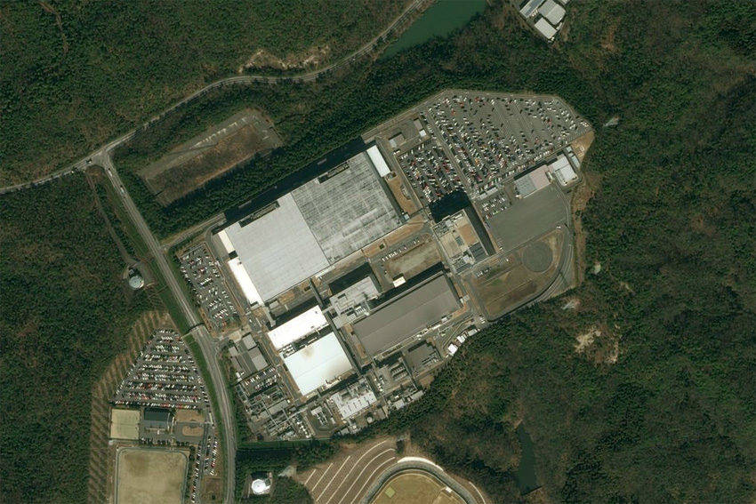 トヨタの広瀬工場。工場施設、電子部品開発・製造事業をデンソーに譲渡する