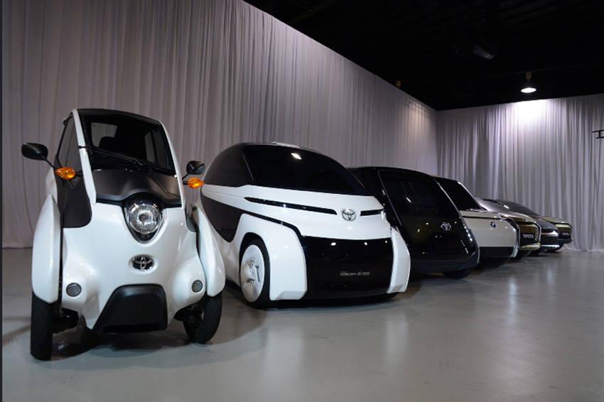 トヨタZEVファクトリーが企画している製品とモックアップモデル