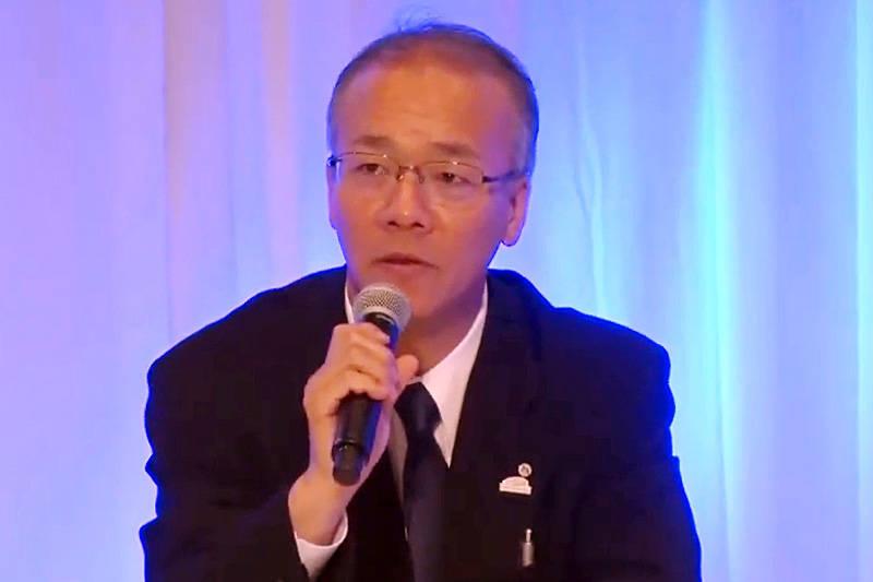 パワートレーンカンパニー 電池事業領域担当の海田啓司部長