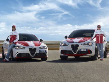 アルファロメオ 「ジュリア ステルヴィオ」F1参戦記念限定車発売