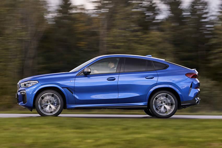 BMW SUVクーペの第3世代 新型「X6」登場