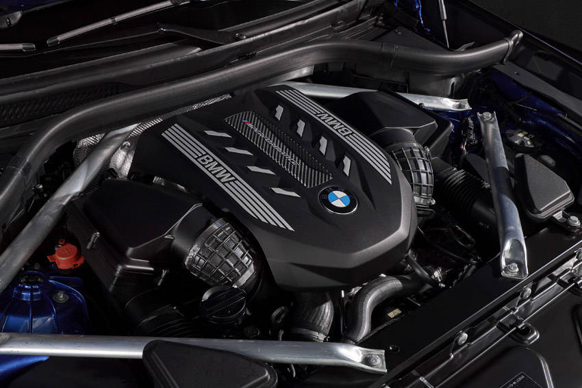 X6 M50iに搭載される530psのV8ターボ・エンジン