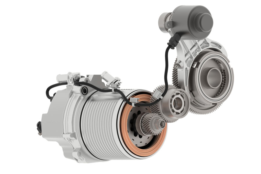 ボルグワーナー トランスミッション組み込み型ハイブリッドユニットを欧州カーメーカーに供給