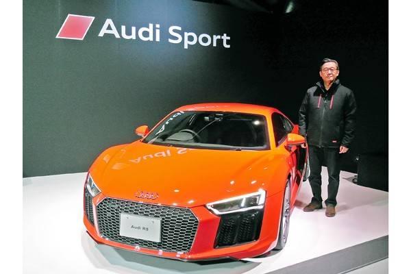 新型R8の発表会ではAudi Sportの展開についても説明があった