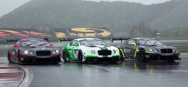 Bentley Team Absolute Continental GT3s
