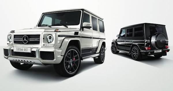 Mercedes-AMG G63 Edition463(左)/Mercedes-AMG G65 Edition463(右)