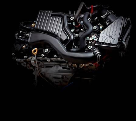 ダイハツがアセアン向け次世代エンジンと位置付ける新型NRエンジン(1.2L)と燃費性能・出力などを改善したKRエンジン(1.0L)を搭載