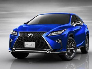 "LEXUS、RXの""F SPORT""に2WD車と専用色を追加設定"
