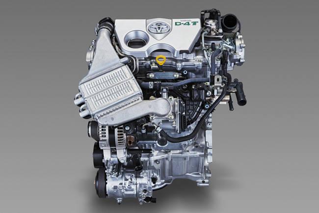 8NR-FTS型エンジン。左側に水冷インタークーラー