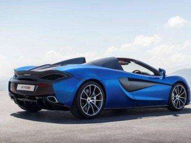クーペ、GTに続く第3のボディスタイル McLaren 570S Spider デビュー