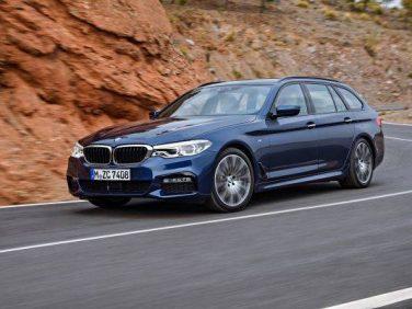 BMWが新型5シリーズツーリングを発表