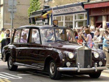 「ザ・グレート・エイト・ファントム展」イギリス女王陛下のファントムⅥを展示