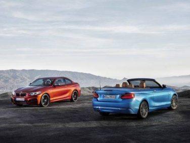 BMW 2シリーズクーペ/カブリオレをマイナーチェンジ