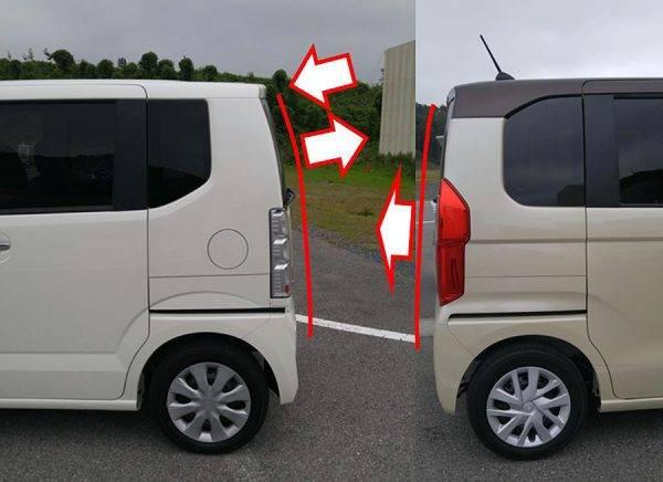 繁浩太郎の言いたい放題 N-BOX 新旧テールゲートデザインの特徴