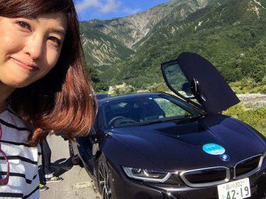 【コラム】「私、脱いでも脱がなくても凄いんです!?」~BMW i8@吉田由美