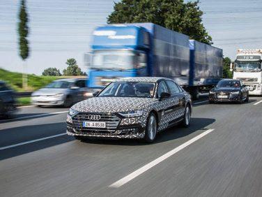 アウディ レベル3の自動運転システムを新型A8に搭載