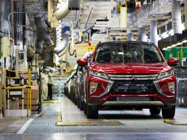 三菱 新型コンパクトSUV「エクリプス クロス」の欧州仕様車を出荷開始
