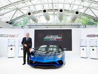 ランボルギーニ日本上陸 50 周年のメモリアルイヤー Lamborghini Day 2017を東京で開催