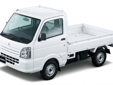 スズキ 軽トラック「キャリイ」を一部仕様変更して発売