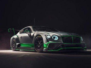 ベントレー 新型コンチネンタルGT3レースカーを発表