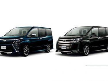 トヨタ、クールなヴォクシーとスタイリッシュなノア、2種類の特別仕様車を発売!