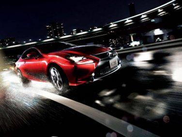 "LEXUS、RC、RC Fを一部改良! 同時に特別仕様車""F SPORT Prime Black""を設定"