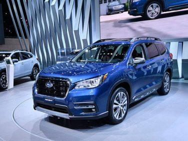 スバル 3列シートの新型SUV「アセント」をロサンゼルスで世界初公開