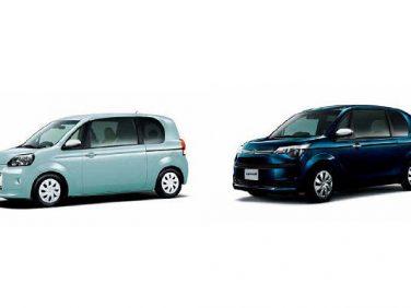 トヨタ、ポルテとスペイドを一部改良するとともに特別仕様車を設定