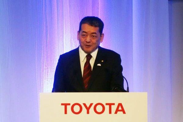 トヨタ 2030年に向けての電動化戦略を発表した寺師茂樹副社長