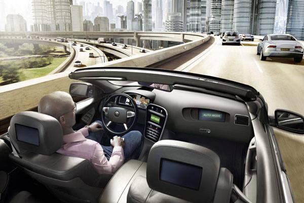 コンチネンタル 通信による協調型の高度自動運転の研究プロジェクト