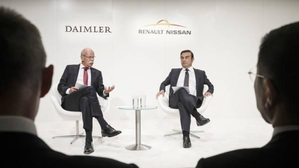 Pressekonferenz Daimler_Renault_Nissan _IAA_2015